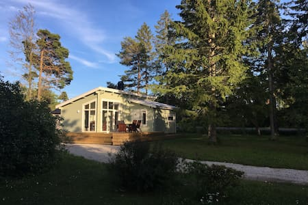Modern house 5km from Visby near Fridhems beach
