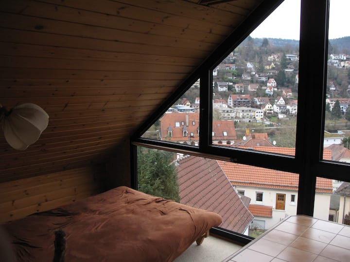 A furnished and beautiful room in Schlierbach