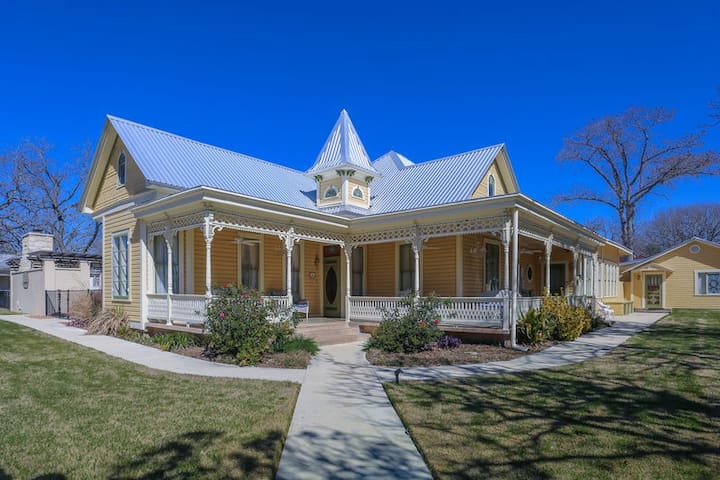 Victorian Mansion Main House | 3/2 Suite | In Town | Shared Hot Tub/Pool