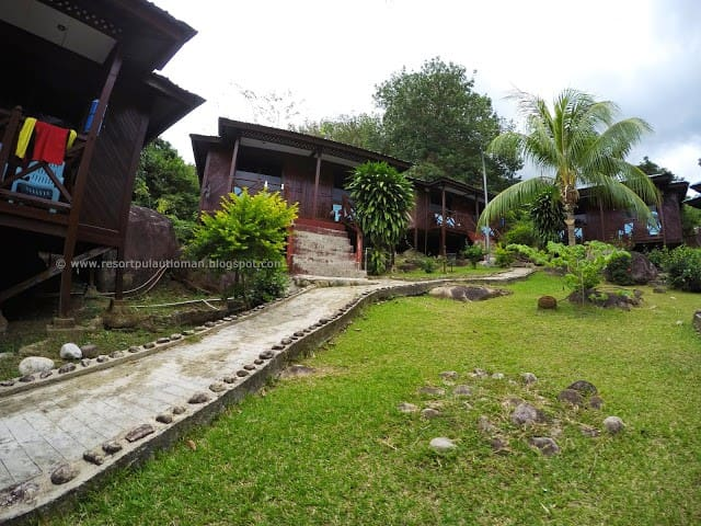 Island Reef Resort, Genting Village, Tioman Island - Pahang - Bungalo