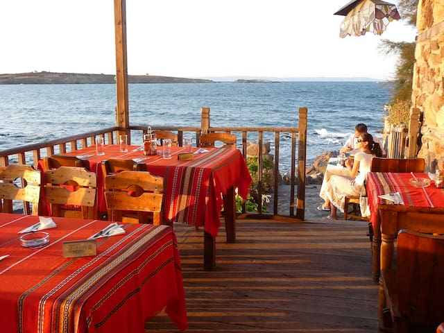 restaurant in the old town Sozopol