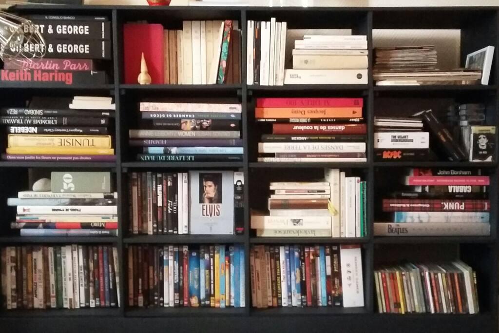 bouquins dvds cds