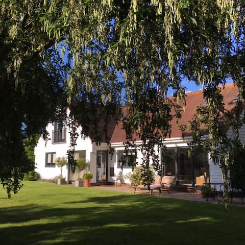 Luxury en-suite double room in beautiful setting. - Milton - Huis