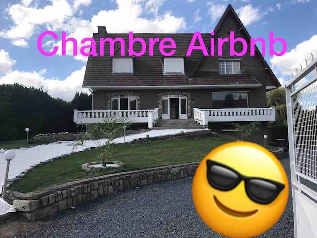 Chambre 1 villa