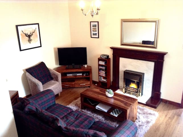 Cosy Highland Cottage, central Inverness