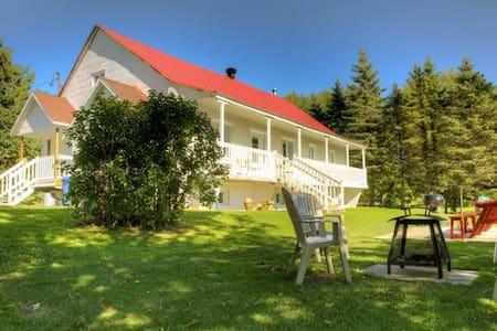 La Villa dans Lanaudière - Saint-Liguori - Hus