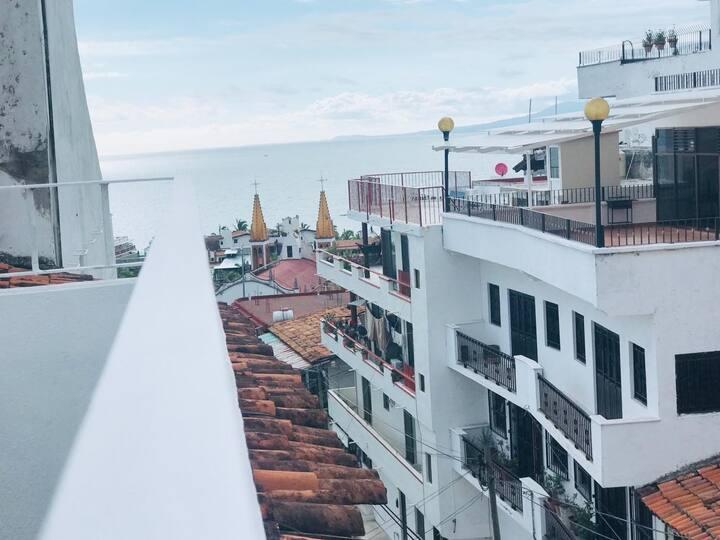 Mini estudio en el Centro de Pto Vallarta. Malecón