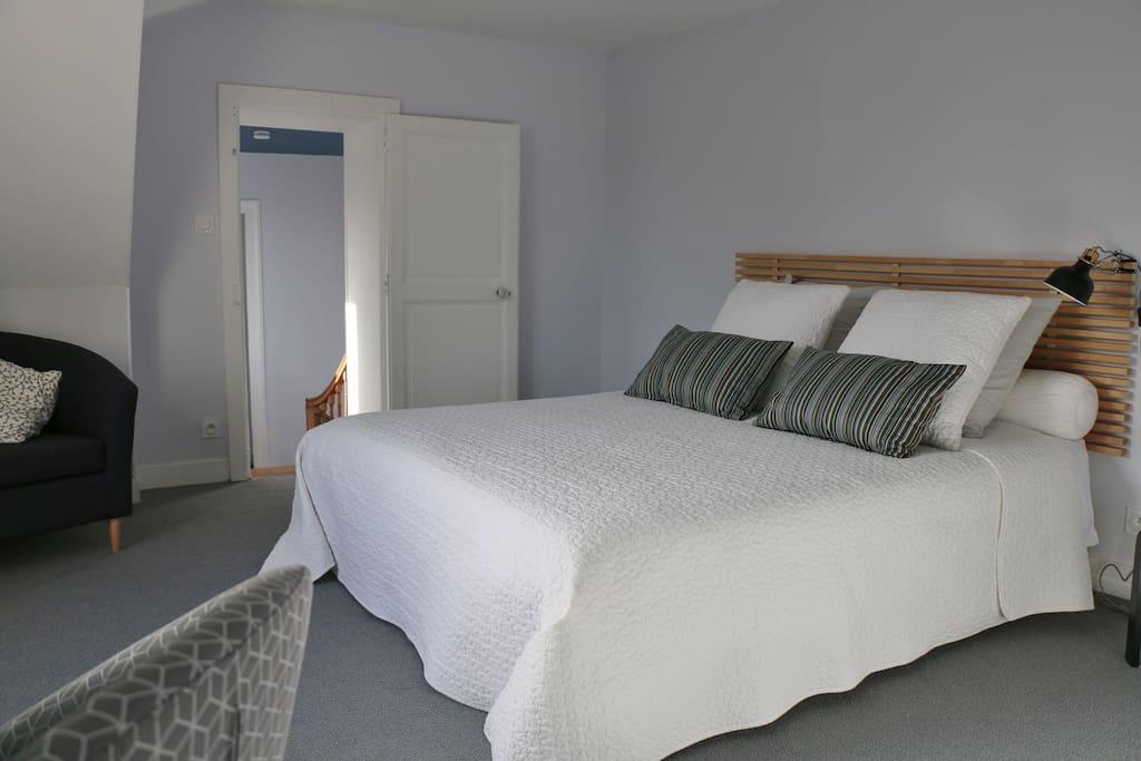 La maison d 39 olivier chambre de charme bonito bed and for Chambre a part couple