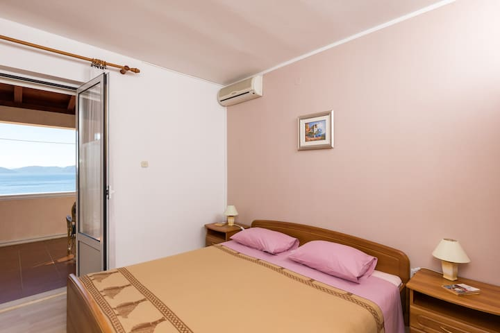 Villa Katarina- Double Room, Terrace, Sea View
