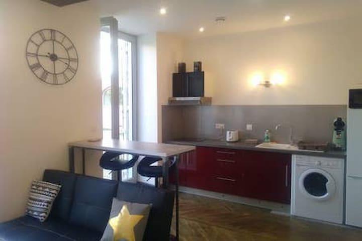 appartement détente avec terrasse