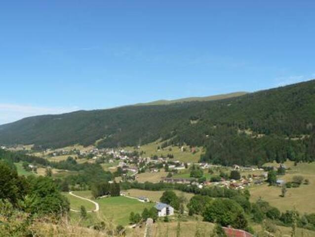 Village en été