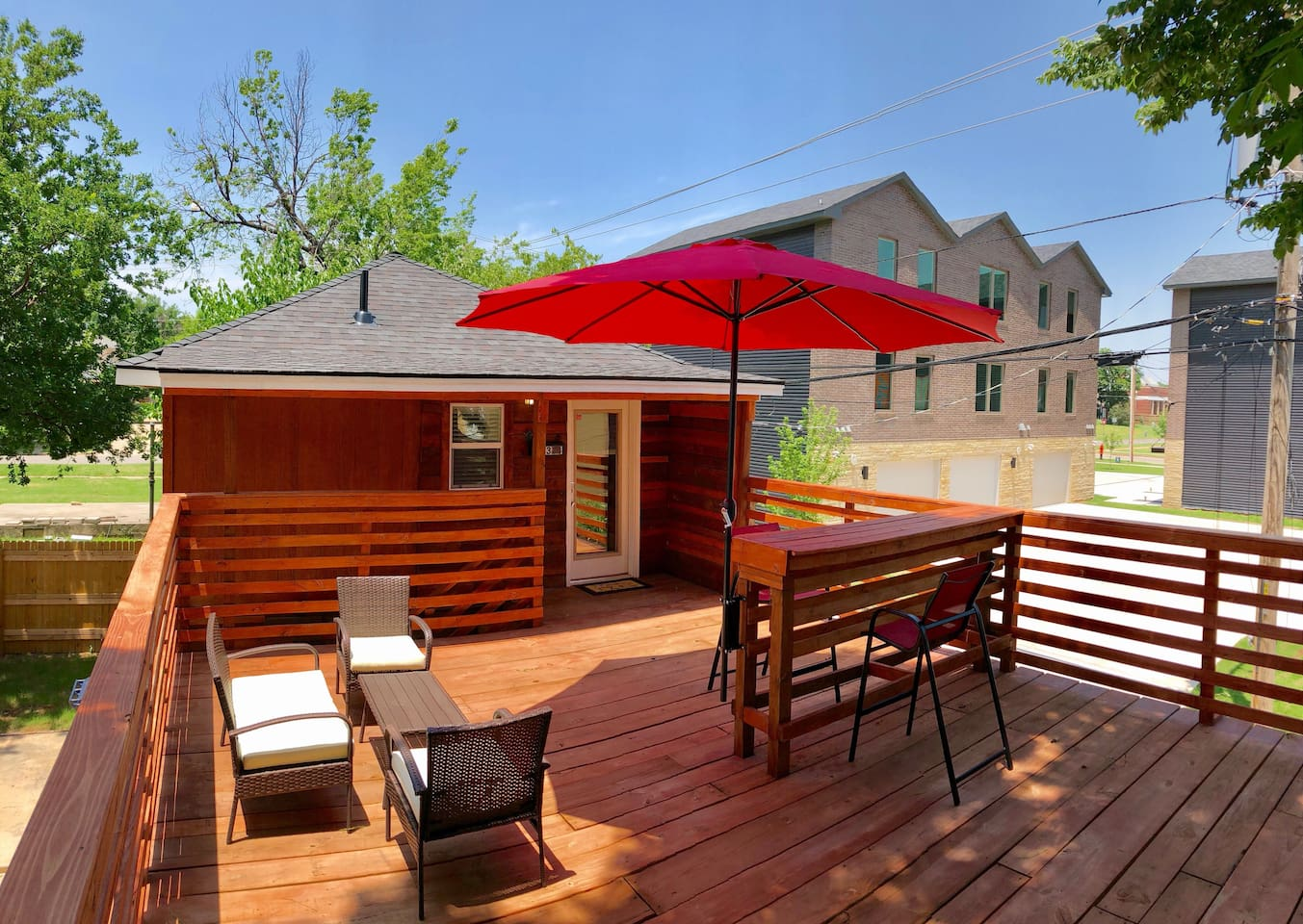 Patio Deck Area To Enjoy The Nice Weather