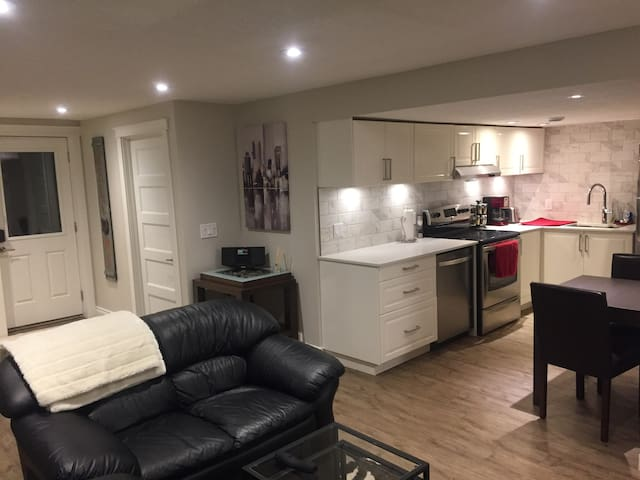 Fully Private Basement Suite, minutes from COP!