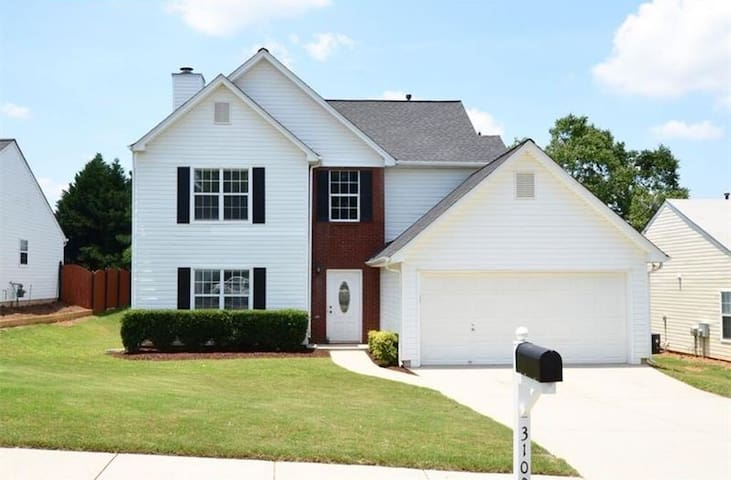 Private Bed/Bath in Buford/Lawrenceville by I-85 - Lawrenceville - Casa