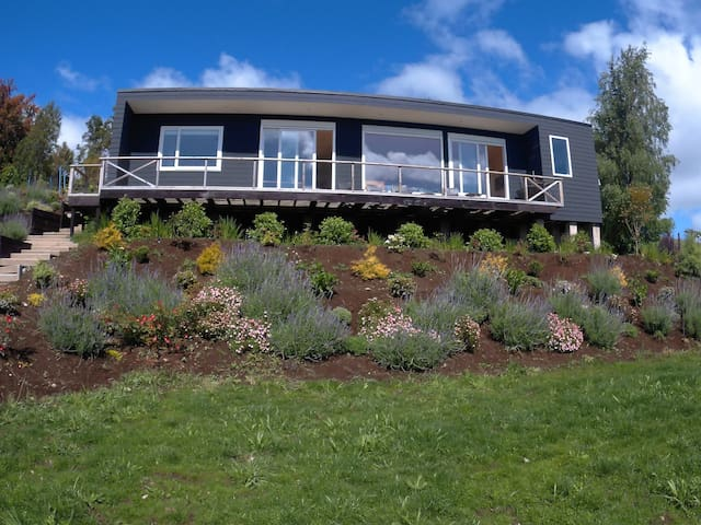 Beautiful loft in front of the lake and volcano - Puerto Varas