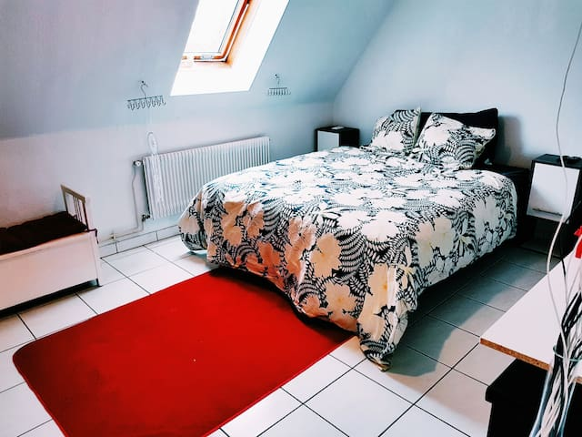 Private room in Modern home near EUROAIRPORT Basel