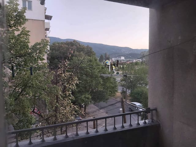the apartment is located in heart of skopje