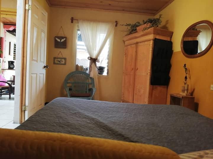 PRIVAT Double room&bthrm 2min centrl prk YOGAESPAI