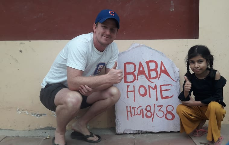 BABA HOMES near TAJ Mahal-(Live as Family).