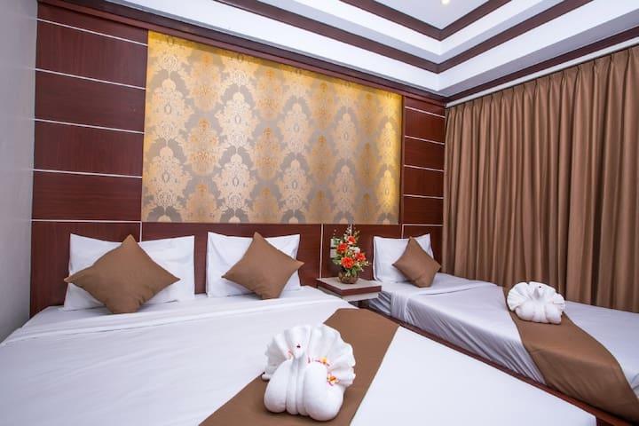 Brilliant Triple Room near Beach! - Ao Nang - Apartment