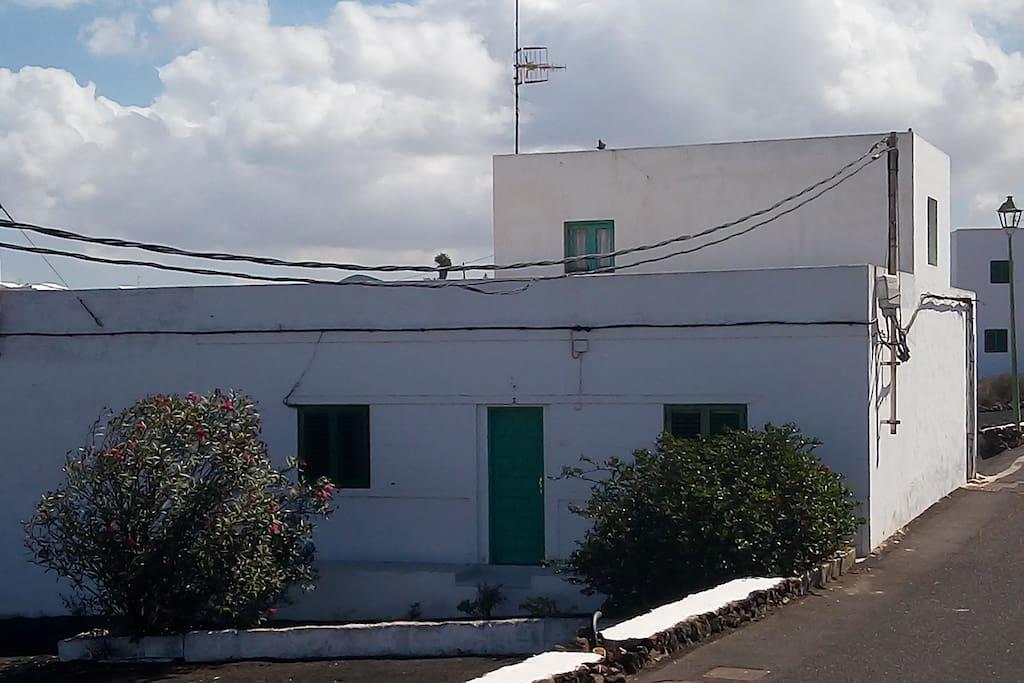 Casa típica de campo en Tinajo
