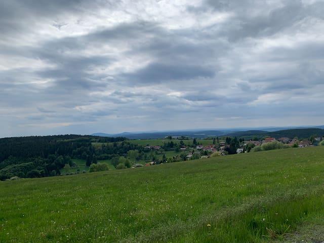 Haus im UNESCO-Biosphärenreservat Thüringer Wald