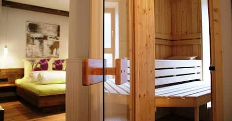 DELUXE APARTMENT WITH SAUNA - DOLOMITES KRONPLATZ