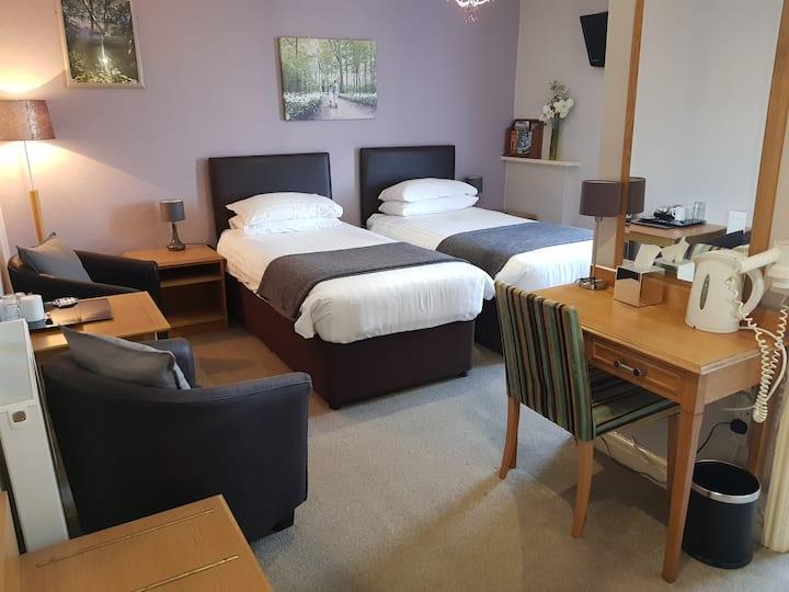 Comfy Twin En-Suite, Room Only