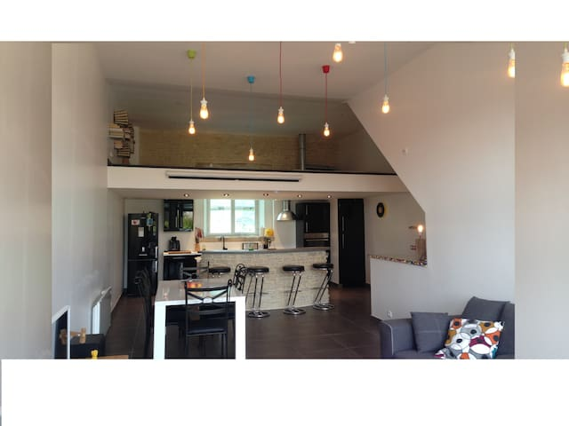 Magnificent Apartment 95 m2 Ground - Troyes - Apartmen
