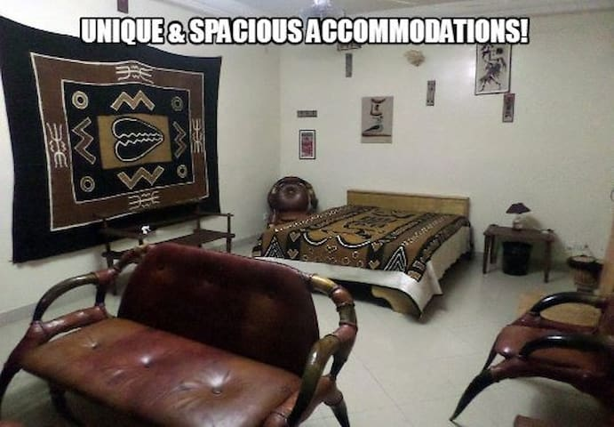 SenegalStyle B&B HomeStay GuestHouse w/MEALS INCL