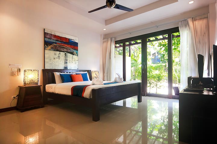 Garden View Studio in luxury Resort