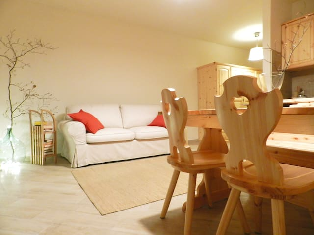 Appartamento 1 con ampia terrazza a Cerreto Laghi