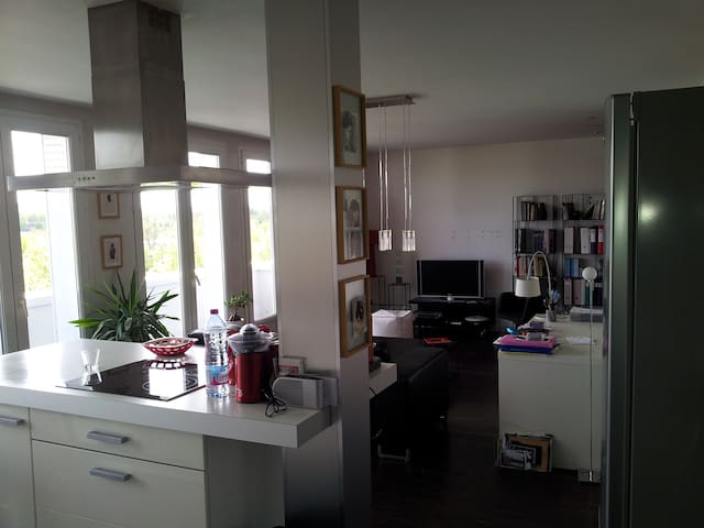Apartment 2 bedrooms near Garonne view and quiet
