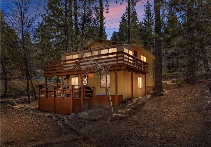 Fidler Creek Cabin 2Bd/1Bath Close to Snow Valley