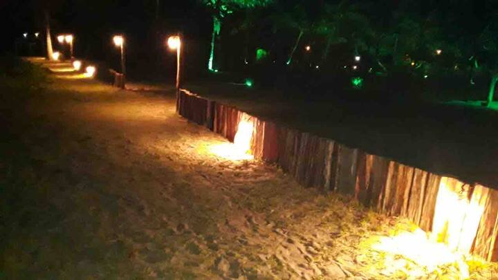 Bela Caraíva Praia Suíte Sol para 4 pessoas