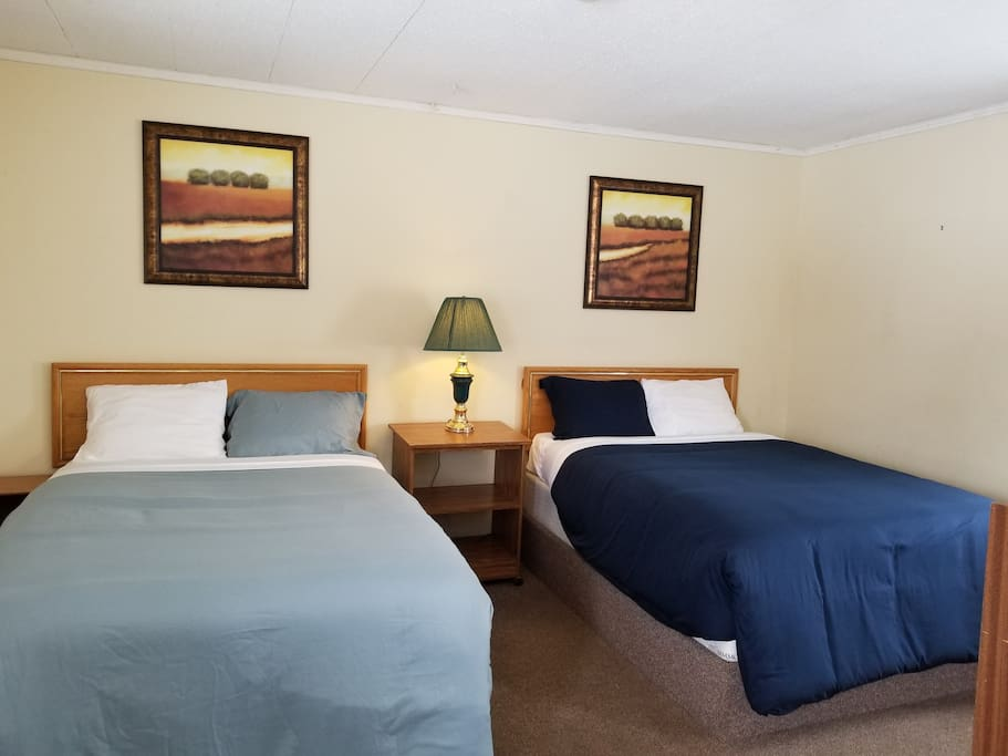 2 double beds, $60 per 1 night