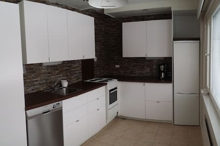 Double room in a stylish apartment - Oulu - Lejlighed