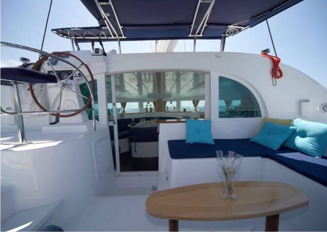 Alojamiento en catamarán: CARMA TRES