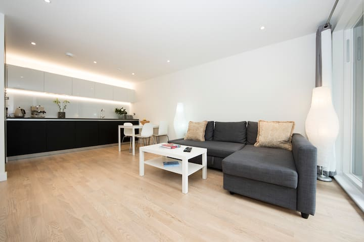 Luxurious one bedroom apartment with terrace - London - Leilighet