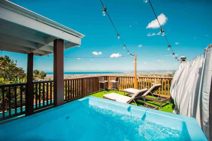 Private terrace + Jacuzzi Panoramic View @ Suite 1