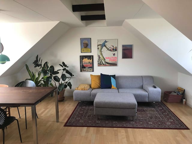 Nice and cozy apartment in the heart of Aarhus