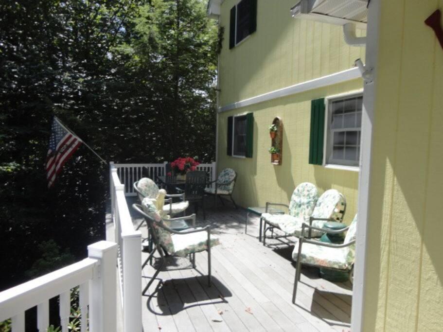 Little House Front Porch