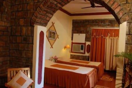 AC Room in Resort near Bandhavgarh National Park Tala Madhya Pradesh