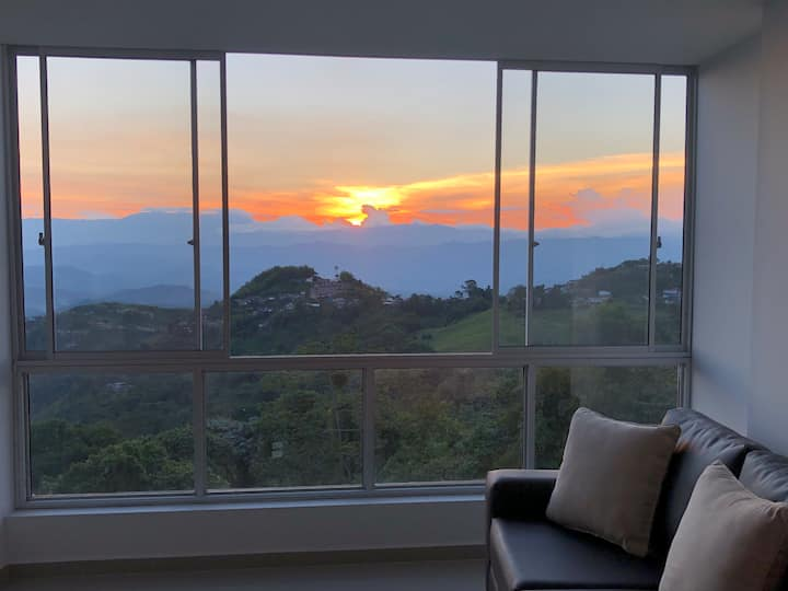 An Amazing View, Dreamy Sunsets and  Totally New!