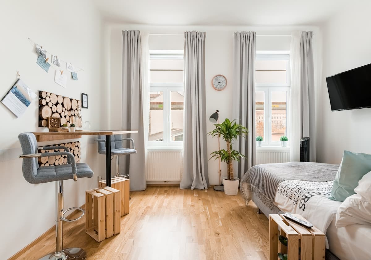 Amovia's urban Studio Apartment at Brunnenmarkt