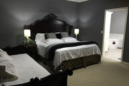 Elegant Independent Entry Master Bedroom! - Lee's Summit