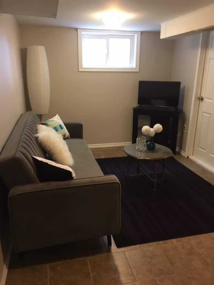 Private Basement Studio Apartment