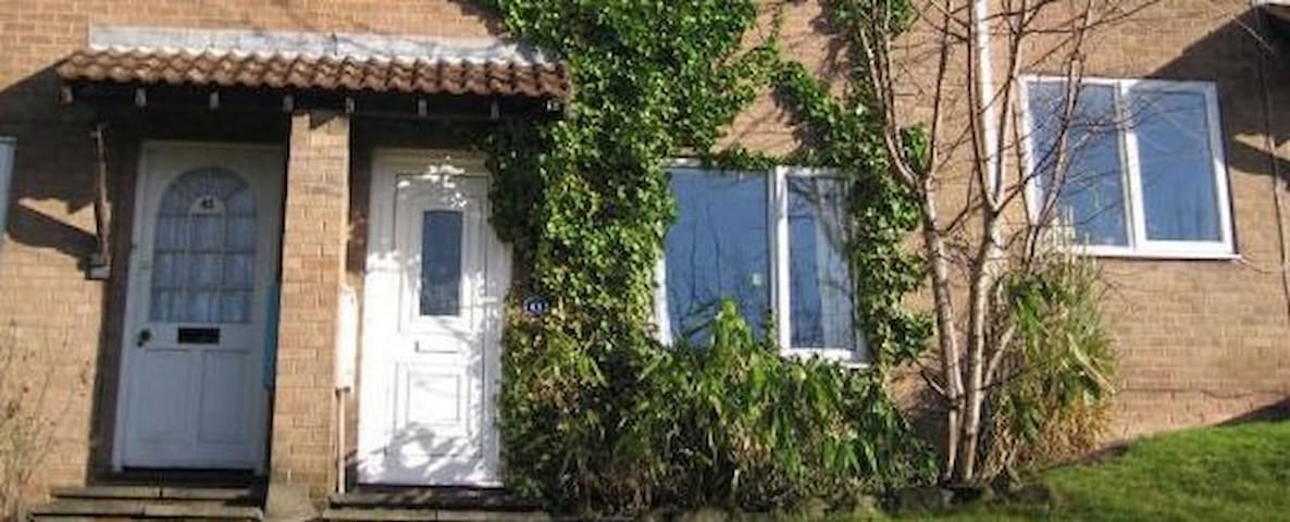 Peaceful 2-bed Nottingham home with sunny garden