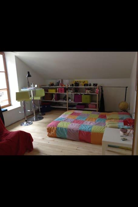 Votre chambre sur un étage entièrement neuf