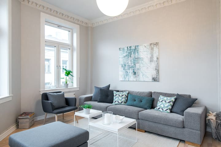 Charming & trendy apartment near Grunerløkka - Oslo - Apartament